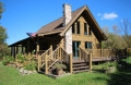 Jerdon Listing H3864 Rustic Log Cabin & Trout Stream